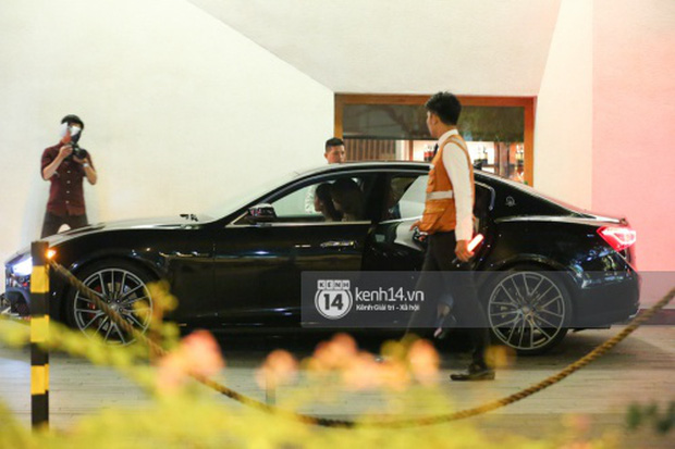 Hồ Ngọc Hà lái Maserati Ghibli S Q4 đi sinh nhật Đàm Vĩnh Hưng ngay sau khi nhận xe - Ảnh 5.
