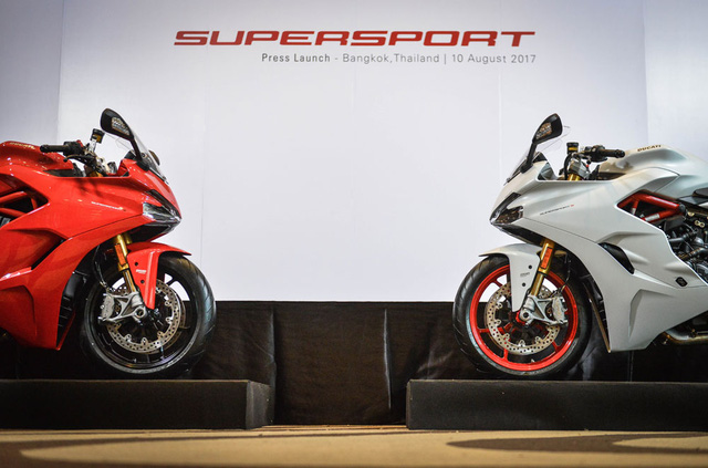 Ducati Supersport 2017 - Hoa hậu của triển lãm EICMA 2016 sắp được giới thiệu tại Việt Nam - Ảnh 2.