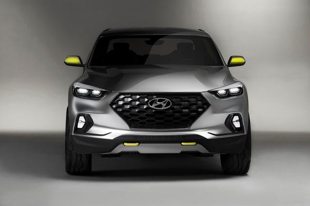 Hyundai cân nhắc sản xuất xe bán tải cạnh tranh với Mercedes-Benz X-Class và Ford Ranger Raptor - Ảnh 1.