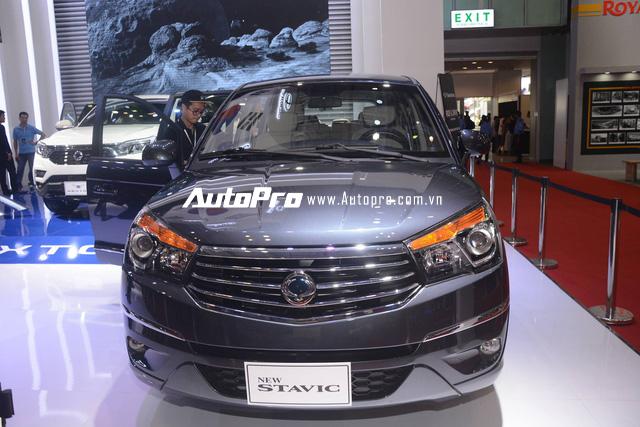 Trực tiếp: SsangYong gây chú ý với SUV cỡ trung G4 Rexton 2018 - đối thủ của Toyota Fortuner - Ảnh 2.
