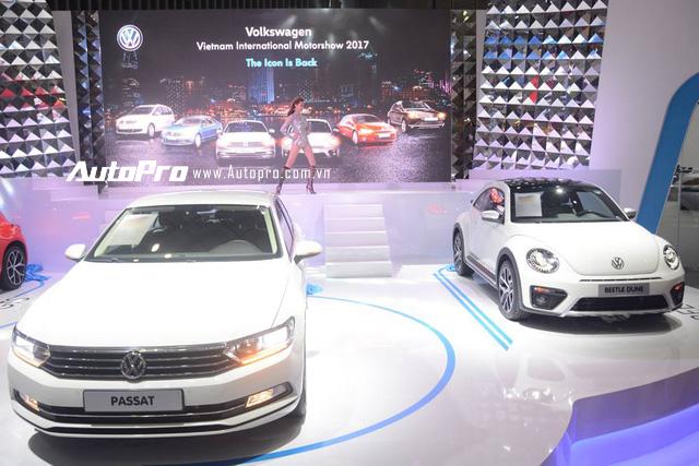 Trực tiếp: Con bọ Volkswagen Beetle Dune giá 1,469 tỷ Đồng ra mắt tại VIMS 2017 - Ảnh 3.
