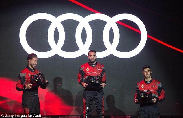 Cristiano Ronaldo và dàn sao Real Madrid được tặng xe sang Audi  - Ảnh 4.