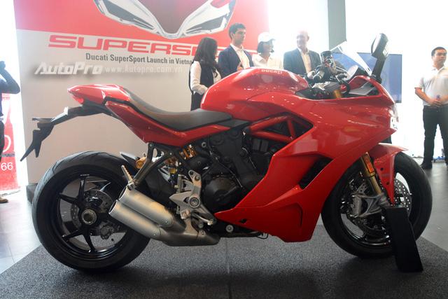 Cận cảnh Ducati SuperSport 2017 phiên bản S có giá 571 triệu Đồng - Ảnh 22.