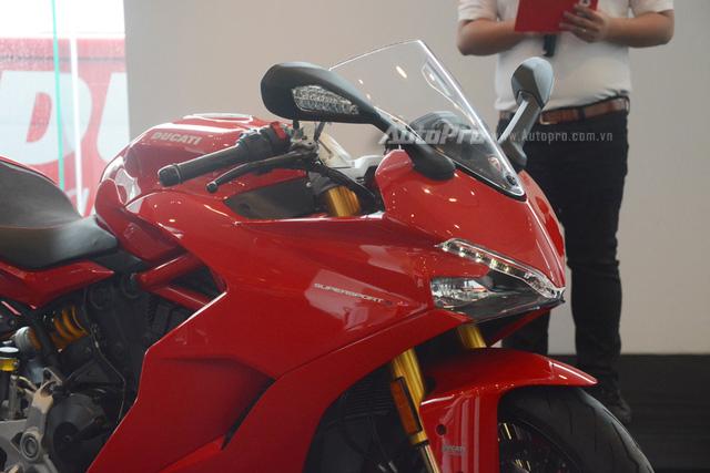 Cận cảnh Ducati SuperSport 2017 phiên bản S có giá 571 triệu Đồng - Ảnh 16.