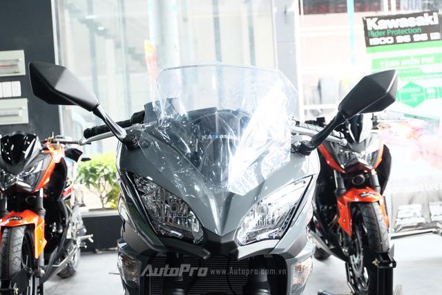 Kawasaki Ninja 650 2018 với màu sơn mới xuất hiện tại Việt Nam, giá bán 288 triệu Đồng - Ảnh 11.