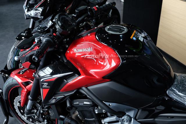 Kawasaki Z900 2018 về Việt Nam, thêm màu sơn mới, giá không đổi - Ảnh 9.
