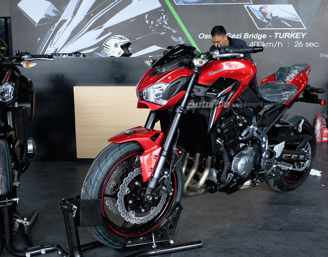Kawasaki Z900 2018 về Việt Nam, thêm màu sơn mới, giá không đổi - Ảnh 3.