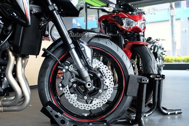 Kawasaki Z900 2018 về Việt Nam, thêm màu sơn mới, giá không đổi - Ảnh 10.