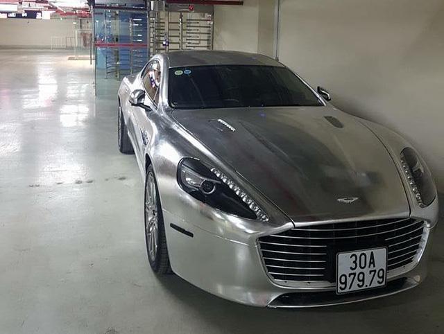 Aston Martin Rapide S của tay chơi Ninh Bình bị công an tạm giữ vì sử dụng biển giả - Ảnh 5.