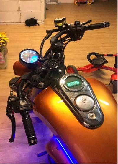Chiếc Harley-Davidson có giá chỉ 70 triệu Đồng của dân chơi Việt - Ảnh 2.