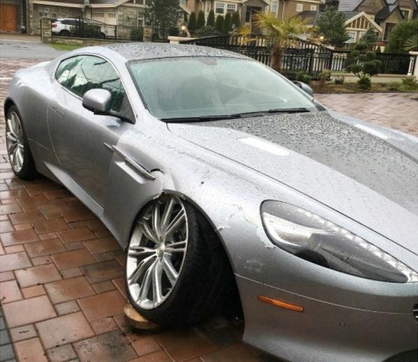 Nữ đại gia chê chi phí sửa chữa Aston Martin DB9 quá đắt - Ảnh 1.
