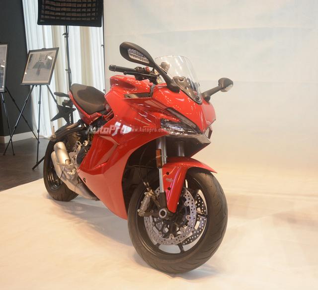 Cặp đôi Ducati SuperSport 2017 ra mắt tại Việt Nam, giá từ 514 triệu Đồng - Ảnh 5.