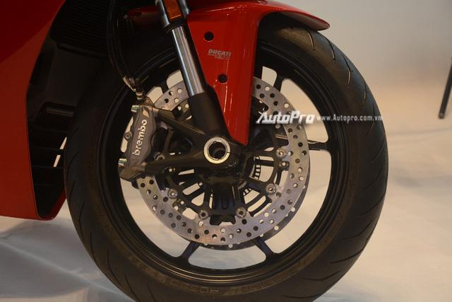 Cặp đôi Ducati SuperSport 2017 ra mắt tại Việt Nam, giá từ 514 triệu Đồng - Ảnh 10.