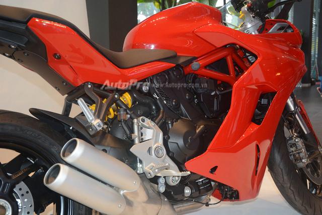 Cặp đôi Ducati SuperSport 2017 ra mắt tại Việt Nam, giá từ 514 triệu Đồng - Ảnh 12.