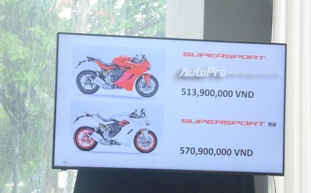 Cặp đôi Ducati SuperSport 2017 ra mắt tại Việt Nam, giá từ 514 triệu Đồng - Ảnh 4.