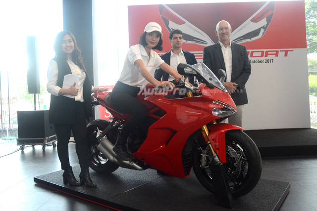 Cặp đôi Ducati SuperSport 2017 ra mắt tại Việt Nam, giá từ 514 triệu Đồng - Ảnh 7.