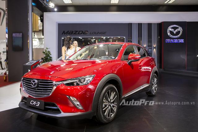 Mazda CX-3 bất ngờ được đưa đi đăng ký biển số tại Sài Gòn - Ảnh 3.