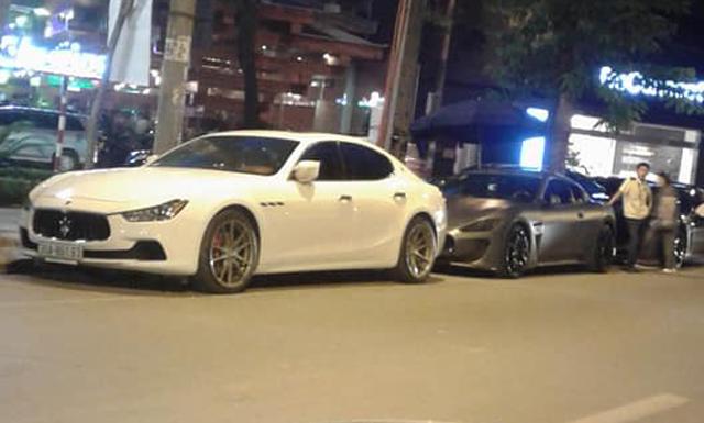 Dàn xe Maserati đình đám của các tay chơi Hà Nội tụ tập dưới phố - Ảnh 6.