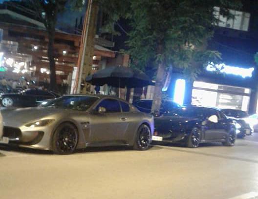Dàn xe Maserati đình đám của các tay chơi Hà Nội tụ tập dưới phố - Ảnh 1.