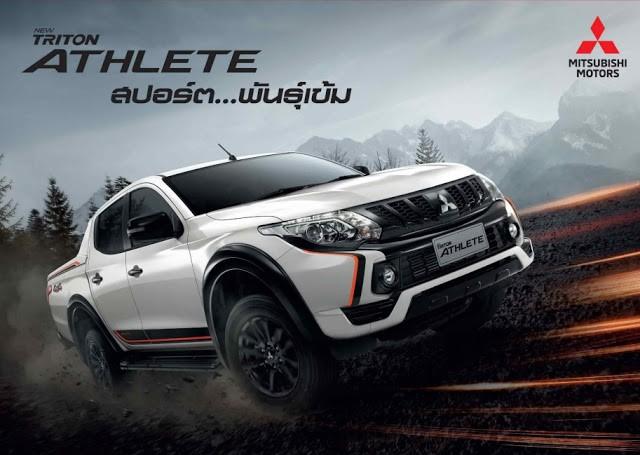 Mitsubishi Triton Athlete ra mắt, cạnh tranh Ford Ranger Wildtrak - Ảnh 1.