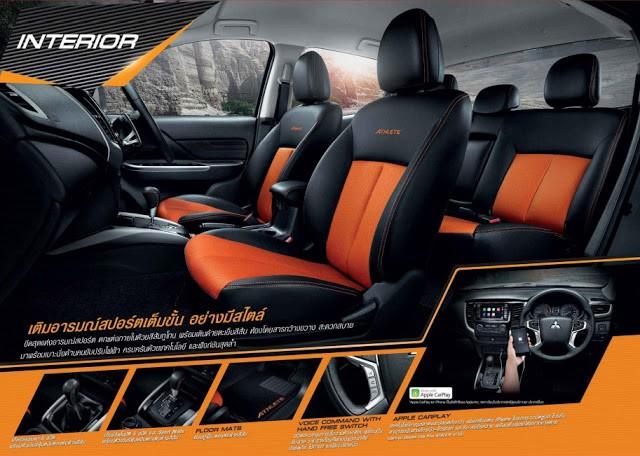Mitsubishi Triton Athlete ra mắt, cạnh tranh Ford Ranger Wildtrak - Ảnh 2.