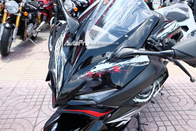 Hàng hiếm Honda CBR250RR phiên bản đặc biệt cập bến Việt Nam, giá hơn 200 triệu Đồng - Ảnh 13.