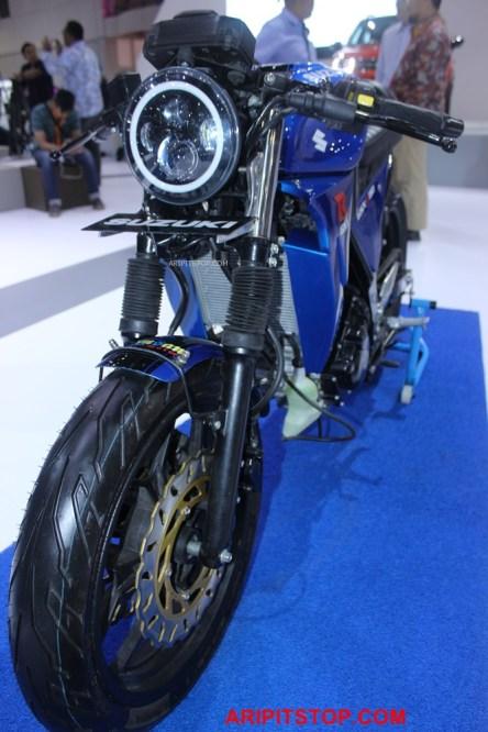 Chiêm ngưỡng phiên bản Café Racer của Suzuki GSX-R150 sắp ra mắt Việt Nam - Ảnh 2.