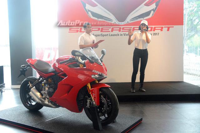 Cận cảnh Ducati SuperSport 2017 phiên bản S có giá 571 triệu Đồng - Ảnh 2.