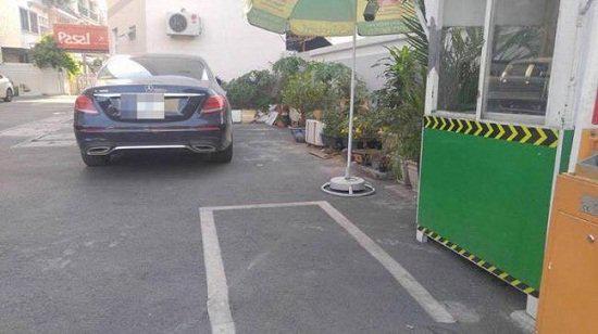 Hoa hậu Kỳ Duyên nói gì khi bị hàng xóm phàn nàn vì đỗ xe sai nơi quy định? - Ảnh 1.