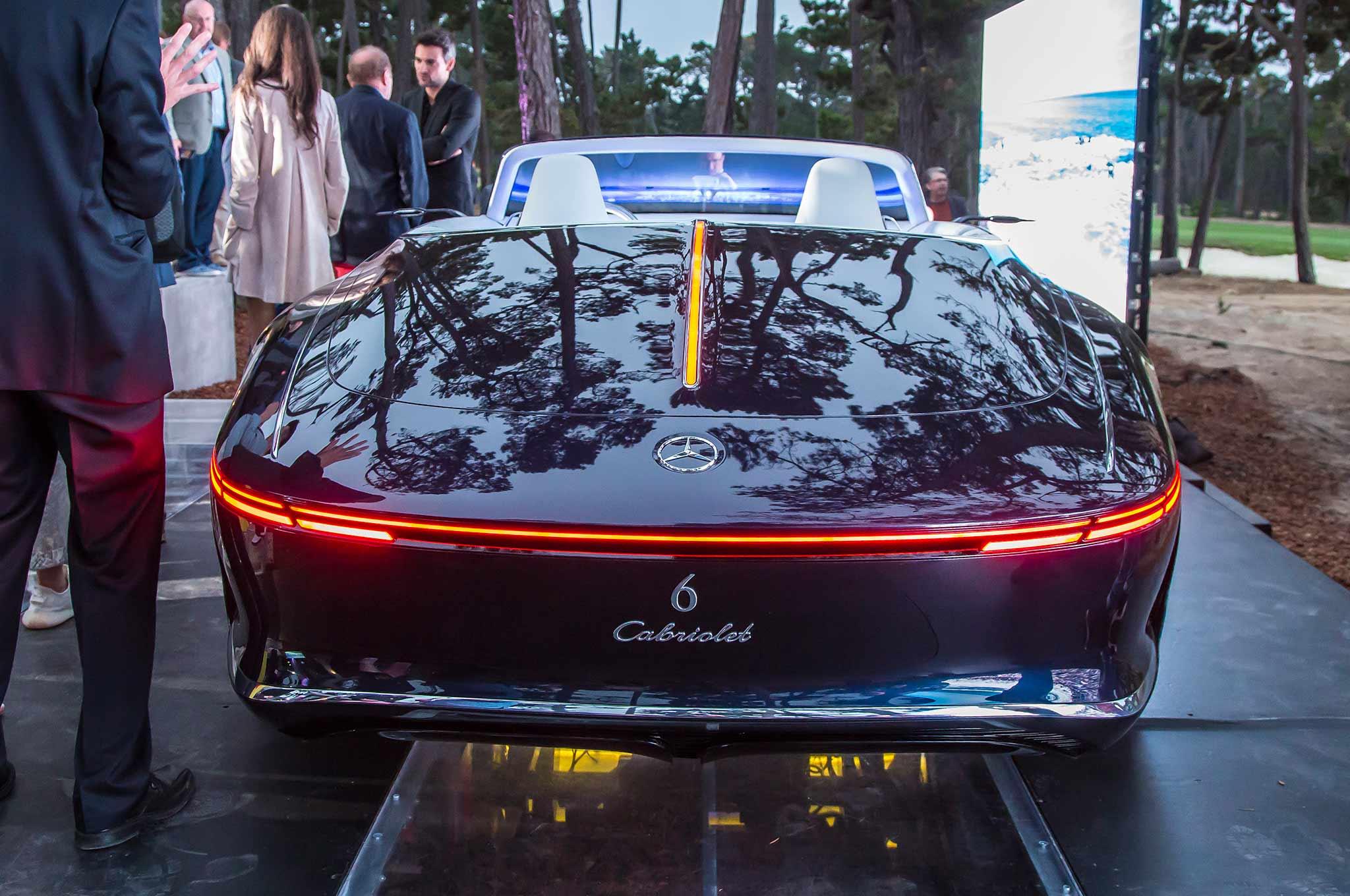 Chiêm ngưỡng vẻ đẹp xuất sắc của Vision Mercedes-Maybach 6 Cabriolet ngoài đời thực - Ảnh 14.