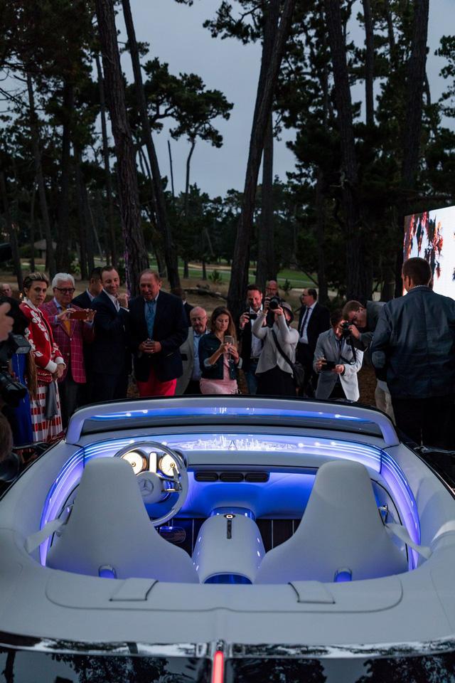 Chiêm ngưỡng vẻ đẹp xuất sắc của Vision Mercedes-Maybach 6 Cabriolet ngoài đời thực - Ảnh 7.