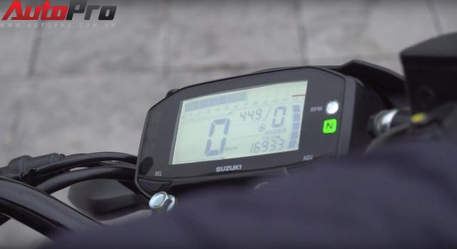 [Video] Hướng dẫn thay đổi mức báo tua máy trên Suzuki GSX-R150/S150 - Ảnh 8.