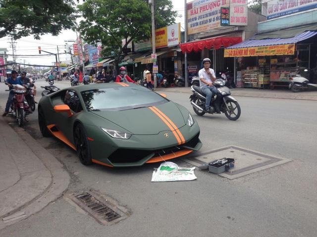 Lamborghini Huracan từng độ mâm bản giới hạn 273 triệu Đồng đang được chủ nhân rao bán - Ảnh 2.