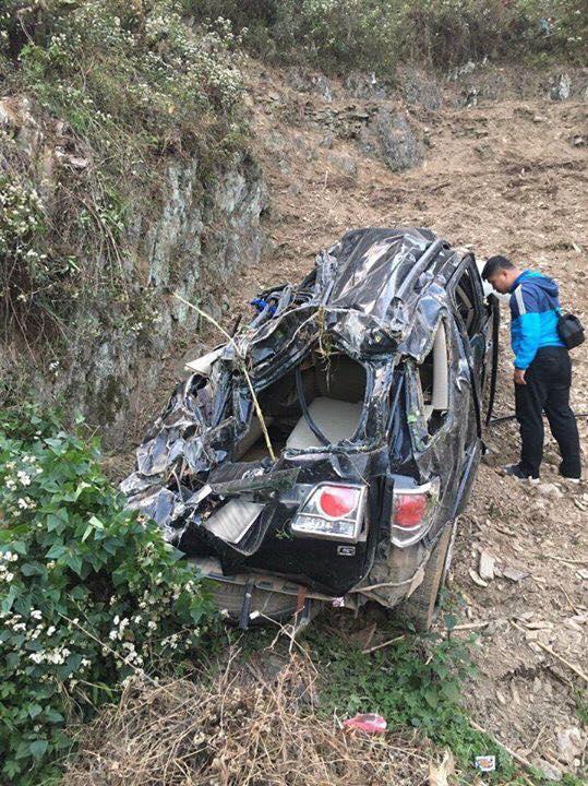 Hà Giang: Toyota Fortuner lao xuống vực sâu, 1 người tử vong - Ảnh 2.