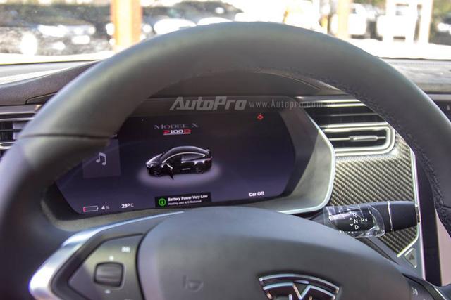 SUV điện Tesla Model X P100D độc nhất Việt Nam được cho đi đăng kiểm - Ảnh 6.