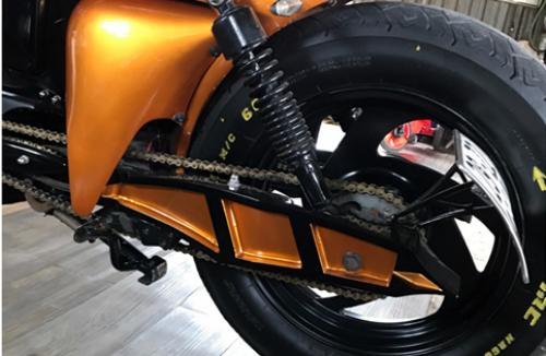 Chiếc Harley-Davidson có giá chỉ 70 triệu Đồng của dân chơi Việt - Ảnh 3.