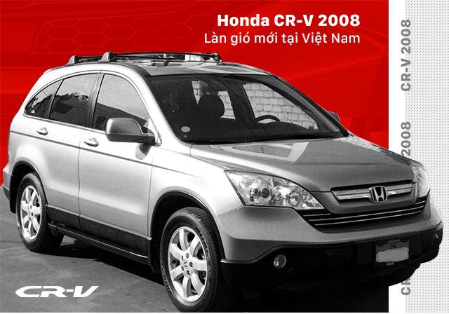 Honda CR-V và 10 năm thăng trầm tại Việt Nam - Ảnh 2.