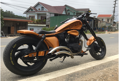 Chiếc Harley-Davidson có giá chỉ 70 triệu Đồng của dân chơi Việt - Ảnh 1.