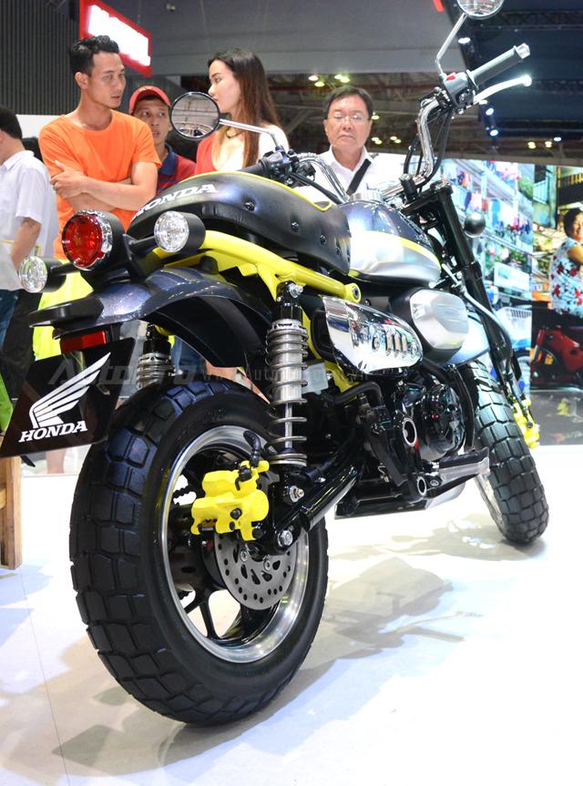 Khỉ con Honda Monkey 125 xuất hiện lần đầu tại Việt Nam - Ảnh 4.