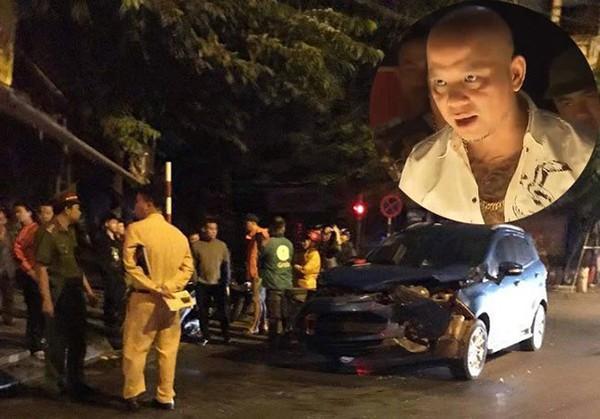 """Xe hơi của Anh Tuấn """"Người phán xử"""" nát đầu vì va chạm với xe của cầu thủ Hồng Sơn - Ảnh 2."""