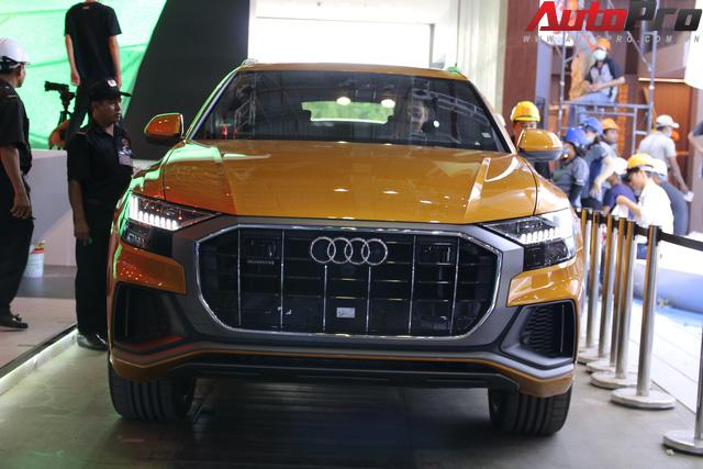 SUV cỡ lớn Audi Q8 lộ diện tại SECC trước thềm Triển lãm Ô tô Việt Nam 2018 - Ảnh 7.
