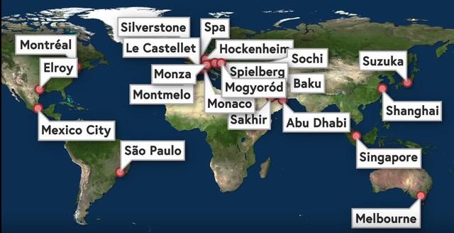 """Chuỗi cung ứng """"thần kỳ"""" của giải F1: Tối Chủ Nhật còn đua tại Trung Đông, sáng thứ Tư đã sẵn sàng ở Trung Quốc - Ảnh 1."""