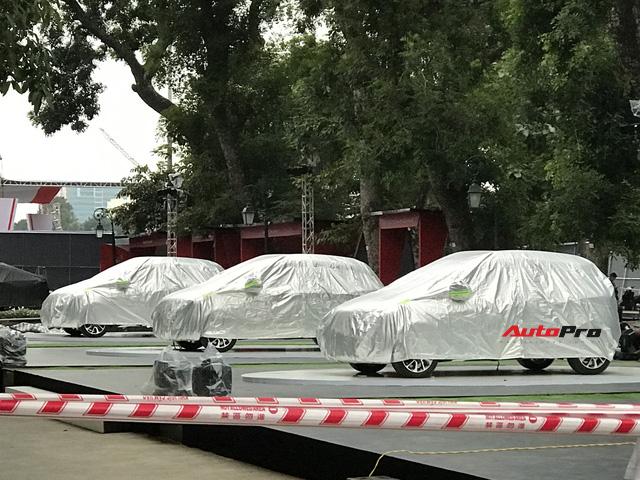 Dàn ô tô VinFast có mặt tại công viên Thống Nhất, sẵn sàng cho sự kiện ra mắt - Ảnh 6.