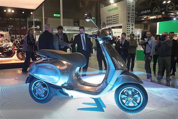 Đầu năm 2019, Piaggio mang xe máy điện Vespa Elettrica về Việt Nam - Ảnh 3.