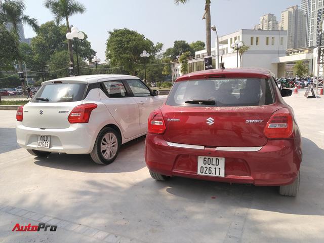 Cận cảnh 2 phiên bản Suzuki Swift thế hệ mới giá từ 499 triệu đồng sắp ra mắt tại Việt Nam - Ảnh 1.