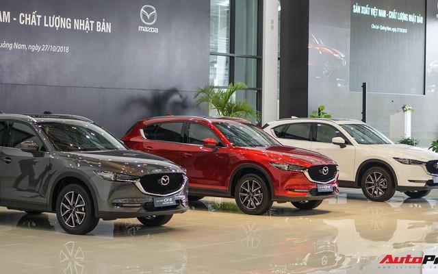 THACO chốt giá loạt xe Mazda màu mới: Đỏ tăng tới 8 triệu, xám và trắng tăng 4 triệu đồng - Ảnh 1.