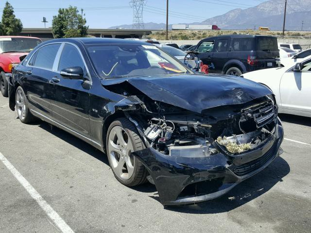 Mercedes-Maybach S600 mới chạy 50 km đã móp đầu đuôi, chủ xe bán tháo vội - Ảnh 1.