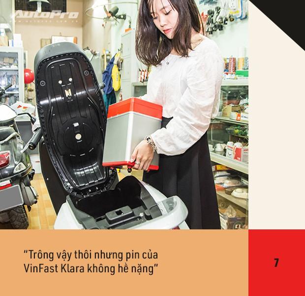 72 giờ trải nghiệm VinFast Klara của nữ nhân viên công sở Hà thành sau nỗi ám ảnh với xe máy điện - Ảnh 15.