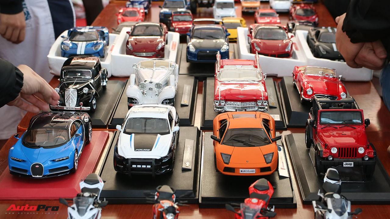 Thoả đam mê siêu xe với thú chơi xe mô hình thu nhỏ