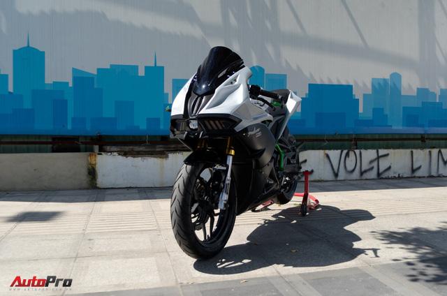 """Thợ Việt độ Bajaj Pulsar RS200 """"lên"""" Kawasaki Ninja H2R - Ảnh 12."""